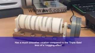 Quad V-Gate Magnetic Rotation Engine - Free Energy Ideas