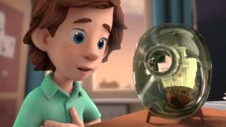 Фиксики - Кораблик | Познавательные образовательные мультики для детей, школьников