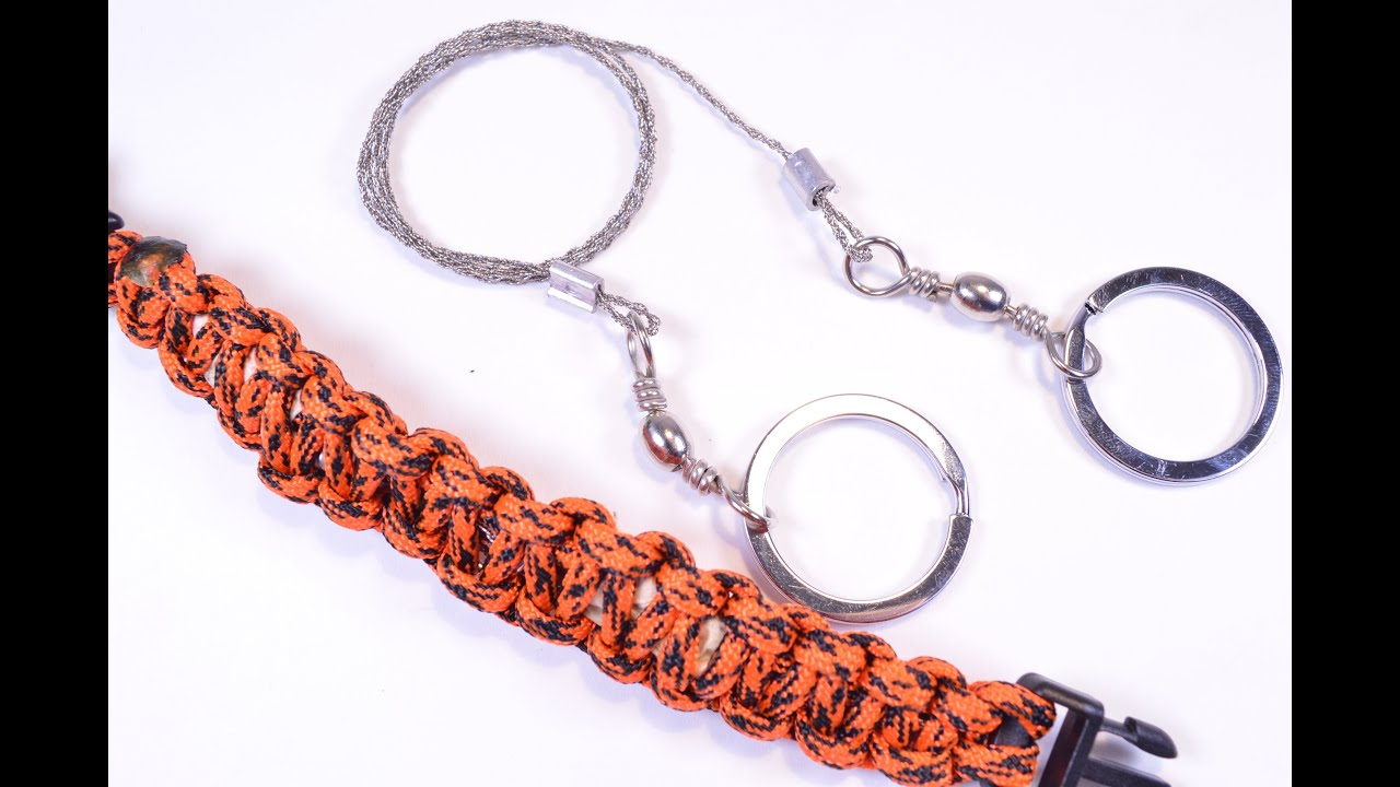 How to Put a Wire Saw Into Survival Paracord Bracelet ...
