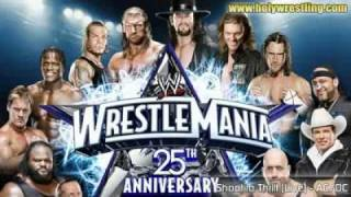 Wrestlemania 25 theme   - ACDC - Shoot The Thrill