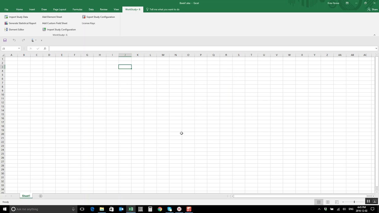 workstudy 6 time study software excel add in installation youtube