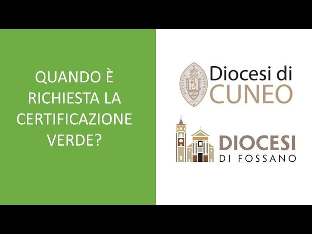Quando è richiesta la certificazione verde nelle attività ecclesiali