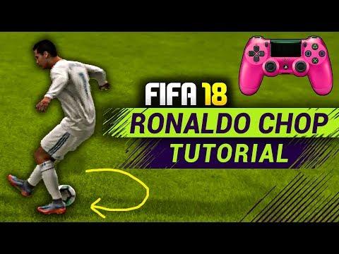 FIFA 18 RONALDO CHOP SKILL TUTORIAL - PC,PS4,Xbox ,PS3 - HOW TO DO RONALDO CHOP IN FIFA 18