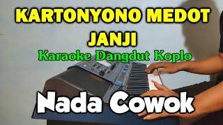 Download lagu KARTONYONO MEDOT JANJI Karaoke Koplo Nada Pria Tanpa Vokal