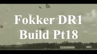 DW Hobby Fokker DR1 build Pt18 RC Model Geeks