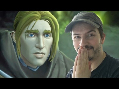 KING ANDUIN WRYNN - In-Game Cinematic REACTION & REVIEW