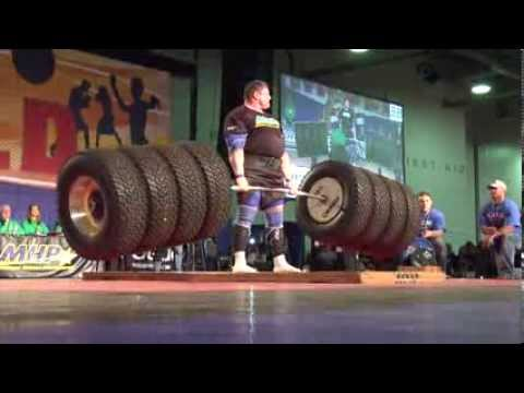 New World Record Deadlift 1155 pounds World's Strongest Man