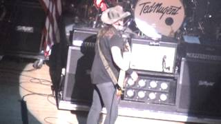 "Ted Nugent: ""The 1st Time We Played This In 40 F"