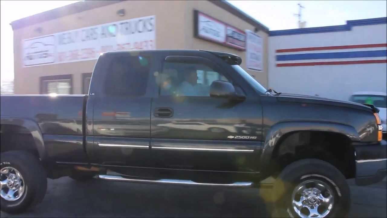 2004 chevy silverado 2500hd 4x4 allison transmission 81l vortec v8 2004 chevy silverado 2500hd 4x4 allison transmission 81l vortec v8 autos inc youtube freerunsca Choice Image