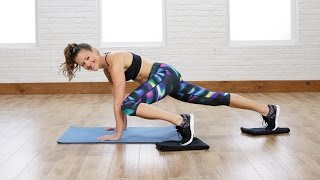 5 Glider Moves For a Flat Belly | Class FitSugar