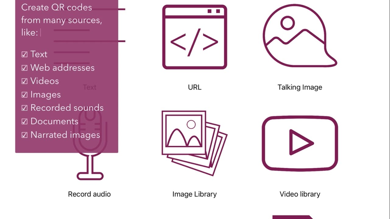 Create QR codes with images, audio and video - Cloud QR