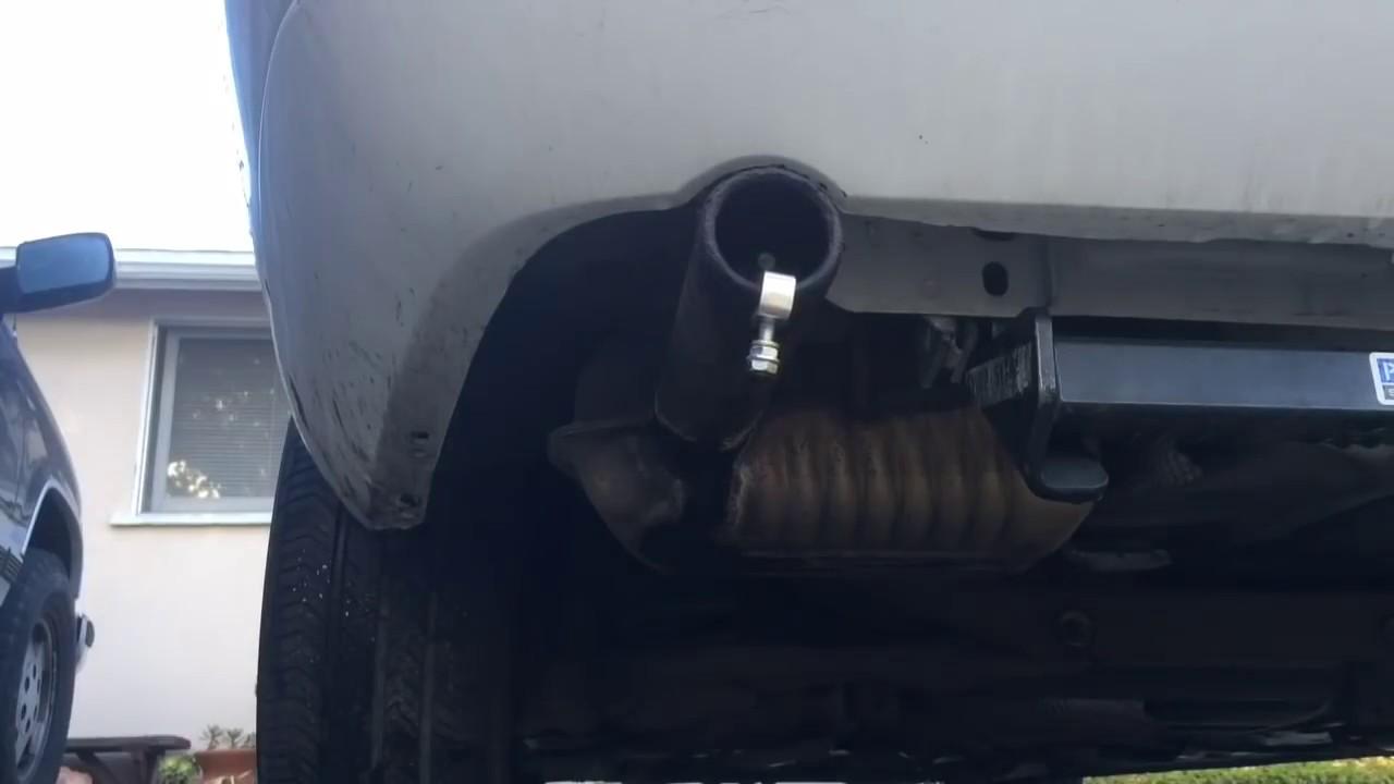 Turbo Exhaust Whistle Test