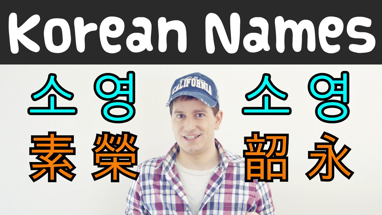 how to find my korean name