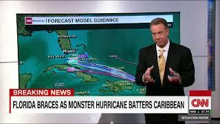 Hurricane Irma a giant, record breaking storm