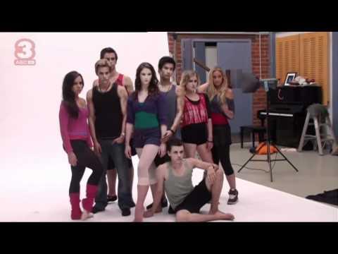 ABC3 | Dance Academy Series 2: Publicity Shoot