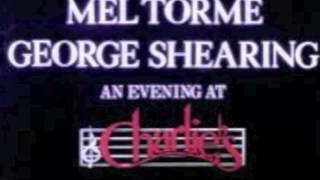 Dream Dancing (Again) Mel Torme and George Shearing
