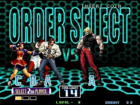 King Of Fighters 2002 Iori Yagami Vs Rugal Youtube