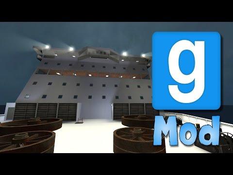 Garry's Mod: RMS Ropax SINKING SHIP Mod Showcase