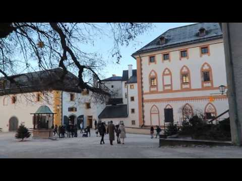Австрия город Зальцбург, Крепость Зальцбург Salzburg