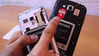 Galaxy Grand Duos vs Galaxy S Duos comparison video