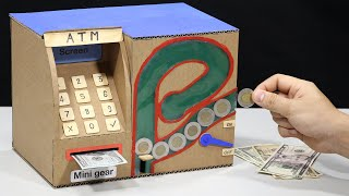 Build My Personal ATM Saving Money and Coin