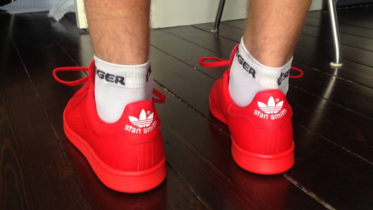 promo code 574b3 d8b74 denmark adidasstansmithlaunch2014 3c1ac 20475  switzerland raf simons x adidas  stan smith red 2014 youtube 1cb9f e3ce6