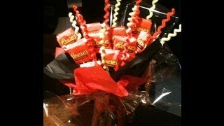 How To Make A Reese's Peanut Butter Cup Candy Bouquet