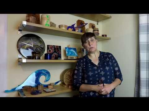 Resin art for beginners by Pam Harris