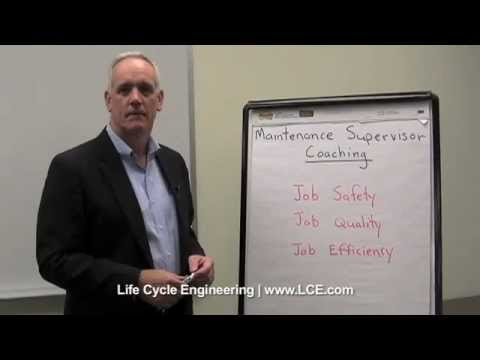 Maintenance Supervisor Coaching