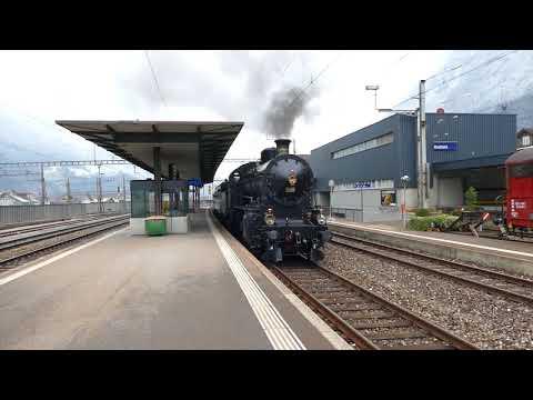 Mit Dampf über den Gotthard 2018