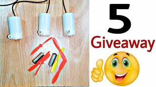 5 Real Giveaways, Dron Motor, Pump, Giveaway Result 29 October, आपका दोस्त, Learn everyone ❤❤ 👍👍