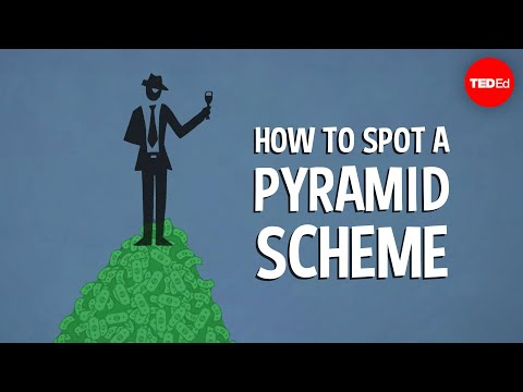 Video image: How to spot a pyramid scheme - Stacie Bosley