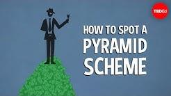 How to spot a pyramid scheme - Stacie Bosley