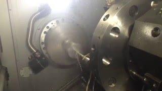 Глубокая сверловка на 125 мм на станке Hurco TM12i(Сверловка отверстия в трубке на глубину 125 мм с подачей СОЖ в очаг сверления. Материал - сталь 40Х. Сверловка..., 2016-02-23T08:52:59.000Z)