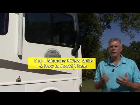Top 5 Mistakes RV Owners Make & How to Avoid Them