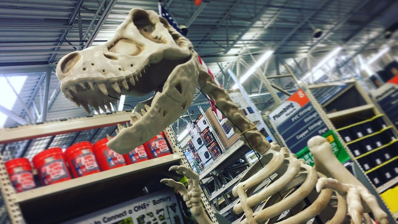 The Home Depot Halloween 2017   In-Store Walkthrough - YouTube