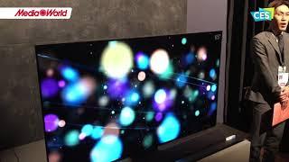 CES 2018 - I nuovi TV OLED Panasonic
