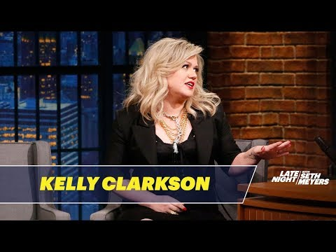 Kelly Clarkson Loves Trash-Talking on The Voice