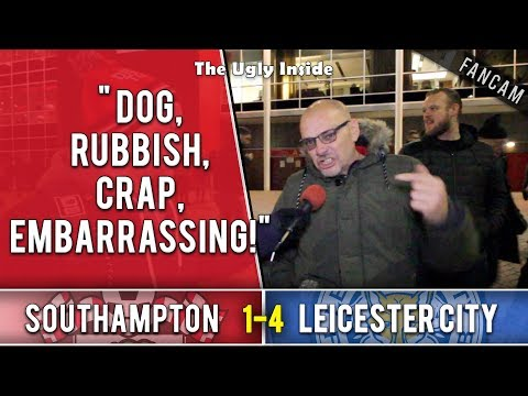 """""""Dog, rubbish, crap, embarrassing"""" 