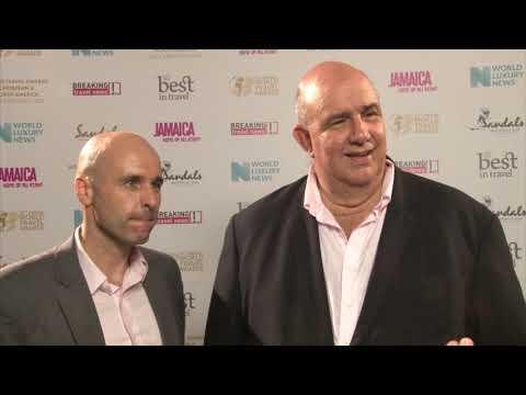 Koen Heitebrink and Brian Roper, Sandals Resorts International