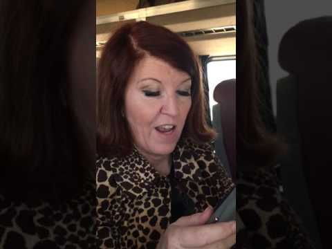 Kate Flannery sent me a personalized video!