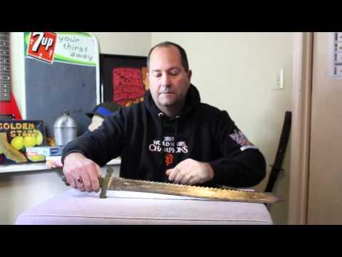 MikesFinds - Swiss Sawback Short Sword