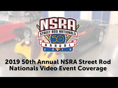 2019 50th Annual NSRA Street Rod Nationals In Louisville, Kentucky