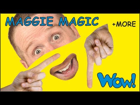 Maggie Magic for Kids | Stories for Children with Steve and Maggie | Learn English Wow English TV