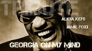 Alicia Keys & Jamie Foxx - Georgia On My Mind