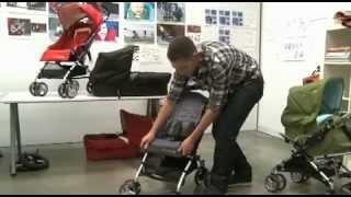 видео Коляска-трость Bumbleride Flite