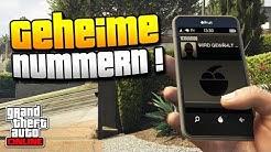 GTA 5   GEHEIME TELEFONNUMMERN IN GTA 5 !   VERSTECKTE CHARAKTERE, SOUNDS & MEHR   IDzock