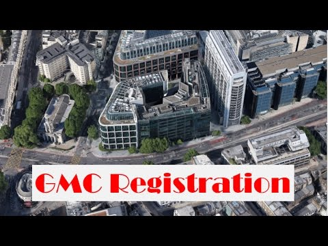 GMC registration explained.