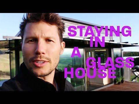 JASON DUNDAS IS STAYING IN A GLASS HOUSE  making it