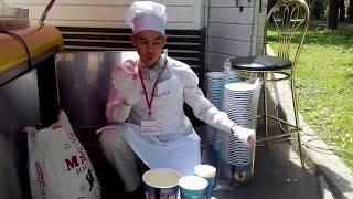 видео Бумажные стаканы для Попкорна